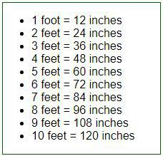 A imperial unit conversion tool that can easily convert the feet to inches, or reverse covert the inches to feet Conversion Chart Math, Math Conversions, Conversion Tool, Interesting English Words, Learn English Words, Good Vocabulary, English Vocabulary Words, Math Formula Chart, Math Tutorials