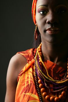 celebrating color & African beauty