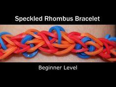 Speckled Rhombus Bracelet - https://rainbowloomsale.com/speckled-rhombus-bracelet/