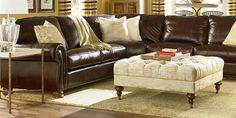 81 Best Sectional Sofa & Ottoman images in 2012 | Living Room ...