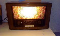 Altes radio, neues licht