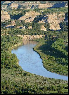 Theodore Roosevelt National Park, North Dakota by Blazingstar, via Flickr
