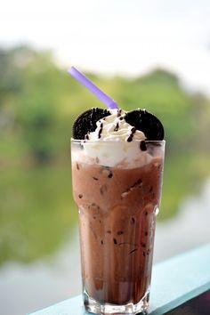 """Diaporama """"10 boissons glacées à préparer cet été"""" - Chocolat frappé"""