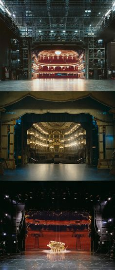 The Fourth Wall: A Rare View of Famous European Theater Auditoriums Photographed from the Stage