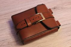 leather belt pouch от HandmadeByDK на Etsy
