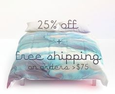 2 day sale! 25% off everything + free shipping on orders over $75
