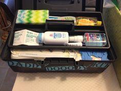 Daddy doody kit/toolbox
