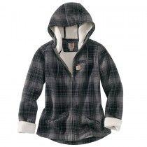 Carhartt Women's Cedar Fleece Sherpa Hooded Jacket