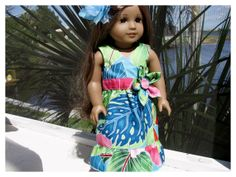 American Girl Doll 18 Inch Doll Wrap Dress for by BonJeanCreations, $22.49