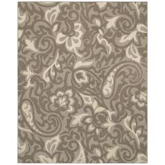Mohawk Forte Taupe, Flesh and Ivory 8 ft. x 10 ft. Area Rug-285968 at The Home Depot