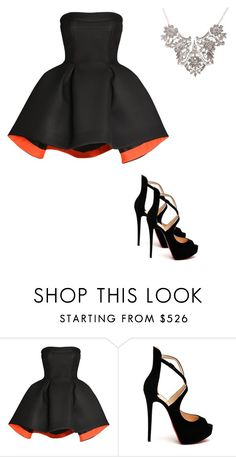 """""""Senza titolo #36"""" by irene1562 on Polyvore featuring moda, Parlor e Christian Louboutin"""