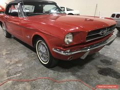 1965 Ford Mustang convertible #ford #mustang #forsale #unitedstates