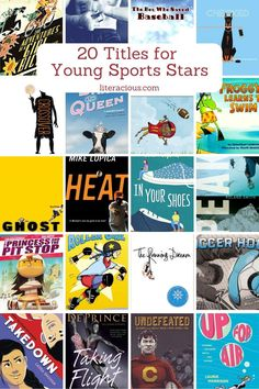 20 Titles for Young Sports Stars