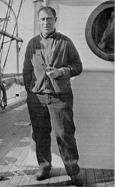 """Captain Robert """"Bob"""" Abram Bartlett (August 15, 1875 – April 28, 1946) was a Newfoundland navigator and Arctic explorer of the late 19th and early 20th centuries."""