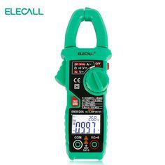 ELECALL EM2016A 6000 Count Smart Measurement Digital Clamp Meter Measure Peak Current Clamp Head Frequency Measure