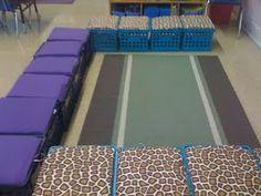 Milk crate seats for floor time!