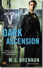 Dark Ascension by M. L. Brennan - After a lifetime of avoiding his family, Fort has discovered that working for them isn't half bad even if his mother, Madeline, is a terrifying, murderous vampire. His newfound career has given him a purpose and a paycheck and has even helped him get his partner, foxy kitsune Suzume, to agree to be his girlfriend. All in all, things are looking up...Recommended by: Megan Kass, Systems Manager.