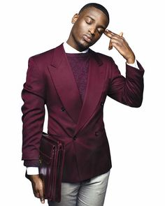 Men's burgundy fashion