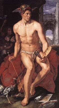 For more about the god MERCURY and MERCURIAL personalities, see the blog post.
