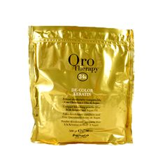 Jetzt verfügbar Fanola Oro Therapy De-Color Keratin Compact bleaching powder blue, with Keratin and Argan Oil - Blondierpulver blau, 500 g Argan Oil Gold, Bleaching Powder, Vitamin E, Anti Aging, Compact, Therapy, Blue, Leaves, Hair