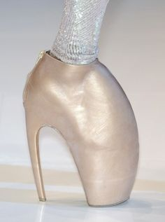 Feathered Fancy - The Fantastical World of Alexander McQueen, In Shoes - StyleBistro