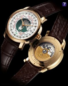 """Vacheron Constantin – PATRIMONY Traditionnelle World Time """"INAH""""  Reference: 86060/000R-9965 /00"""