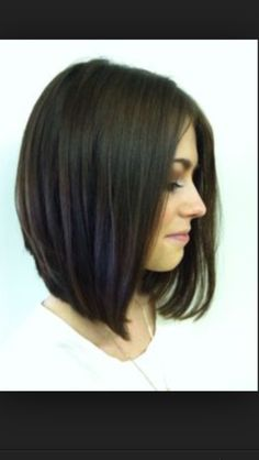 Devastatingly Cool Haircuts for Thin Hair Hair cuts/styles for fine, thin, limp hair?Hair cuts/styles for fine, thin, limp hair? Cute Girl Haircuts, Thin Hair Haircuts, Long Bob Haircuts, Cool Haircuts, Popular Haircuts, Straight Hairstyles, Layered Haircuts, Straight Hair Bob, Straight Shoulder Length Hair Cuts