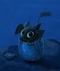 Toothless from How to Train Your Dragon movie