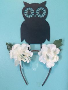 Flower Embrodiered Cat Ears