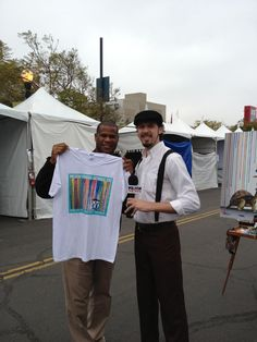 @ArtWalkSD T-Shirt Artist Michael Summers!