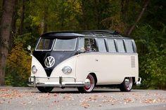 VW Camper Van Tire hacia atrás Modelo del Coche de Juguete V DUB Split Surf Regalo Presente papás padre