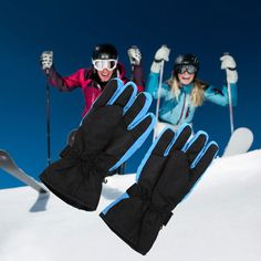 C$ 4.53 Pas cher 2016 New Arrival 4 Colors Men Ski Gloves Thermal Waterproof For Winter Outdoor Sports Snowboard Free Shipping, Acheter  Ski Gants de qualité directement des fournisseurs de Chine:2016 Nouvelle Arrivée 4 Couleurs Hommes Gants de Ski Thermique Étanche Pour Sports D'hiver En Plein Air Snowboard Li