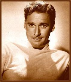 Errol Flynn (1909–1959) Australian/American actor ~ he was actually born in Tasmania.  Flynn was known for his romantic swashbuckler roles in Hollywood films and his adventuring, playboy lifestyle. Films include:  CAPTAIN BLOOD, THE ADVENTURES OF ROBIN HOOD, THE PRIVATE LIVES OF ELIZABETH AND ESSEX, THAT FORSYTHE WOMAN