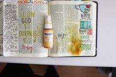 Journaling Bible | Put it in the cup | Illustrated Faith