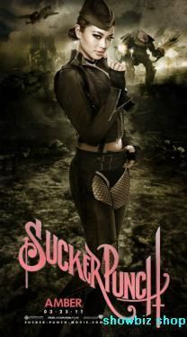 Sucker Punch Movie poster Metal Sign Wall Art 8in x 12in