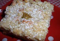 Šlehačkový koláč s rebarborou Krispie Treats, Rice Krispies, Sweet Recipes, Grains, Cheese, Cooking, Healthy, Food, Meal