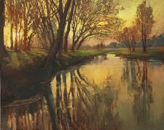 """Jan Schmuckal  ~  """"The changing light of day and the moods it evokes are the foundation of all my oil paintings."""""""