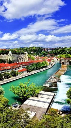 Panoramic view on the magnificent old town of #Bern, capital of #Switzerland.