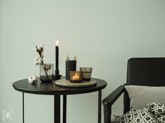 NORDIC WINTER | HEIDI RISKU Laini side table styling nordic winter