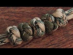 How To Tie Paracord Ranger Beads Method 2 - YouTube