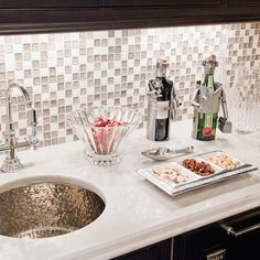 Mother Of Pearl Tile Design, Pictures, Remodel, Decor and Ideas - page 8