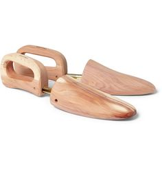 Church'sNorfolk Wood and Metal Shoe Trees  Interesting possibility. . .