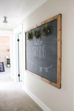 DIY Chalkboard                                                                                                                                                                                 More