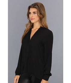 Brigitte Bailey Sophie Blouse Navy - Zappos.com Free Shipping BOTH Ways
