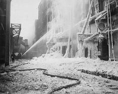 The Great Chicago Fire. 1871