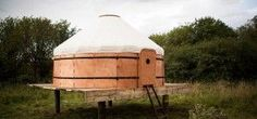 designed for purposes of easy transport fitting with a nomadic lifestyle, scottish studios trakke and uula jero have teamed up to develop the 'jero' flat pack yurt. Portable Tent, Portable House, Glamping, Household Expenses, Wood Canvas, Selling Your House, Tiny Living, Architecture, House Design