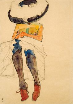 Egon Schiele is my best friend