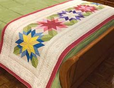 table runner kit (I like the use of colors & shades in the example)