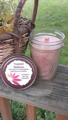 Toasted 'Mallows Scented 8oz Soy Candle