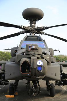 ♠ Boeing AH-64 Apache #Military #Helicopter